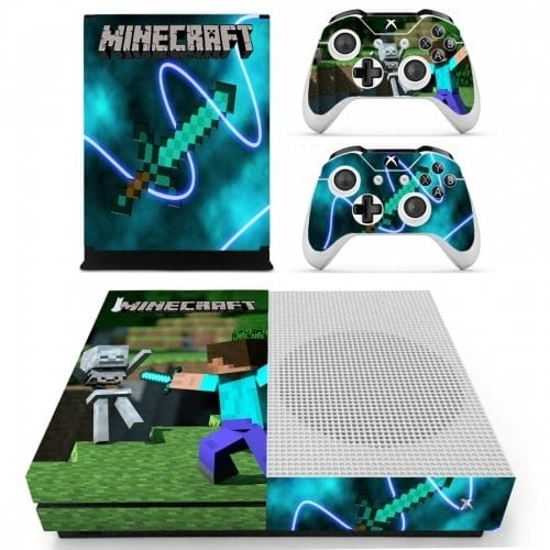 Minecraft Xbox One S Vinyl Skin