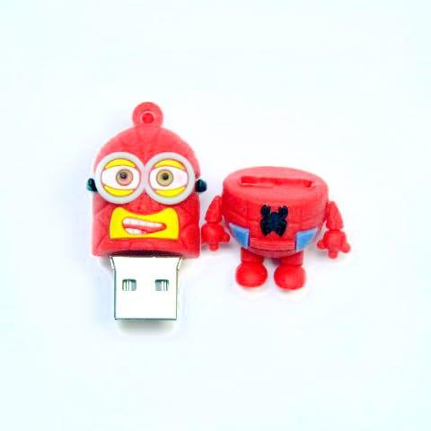Spiderman Minion USB Memory Stick 8GB Open