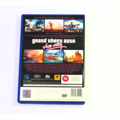 PlayStation 2 Grand Theft Auto Vice City PS2 Back