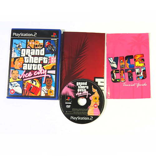 PlayStation 2 Grand Theft Auto Vice City PS2