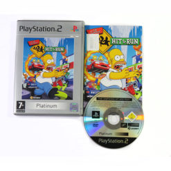 PlayStation 2 The Simpsons Hit and Run 1