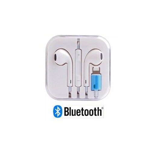 Wired Lightning Bluetooth Earphones with Microphone for iPhone