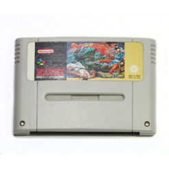 SNES Street Fighter II Game