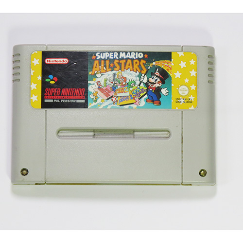 SNES Super Mario All Stars Game (With Manual)