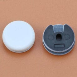 Nintendo 2DS 3DS 3DS XL New 3DS 2DS XL Replacement Analog Toggle Thumb Cap Grips white