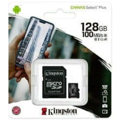 Class 10 128GB SDCS2 Micro Kingston
