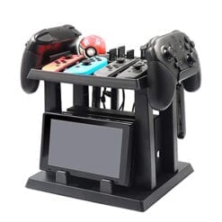 Nintend Switch Accessories Multifunctional Storage Bracket Stand with Game Discs Controller Carrying for Nintendo Switch Gaming