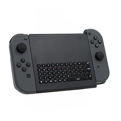 Nintendo Switch Wireless Keyboard, Mini Gamepad Chatpad Message Keyboard