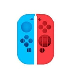 Nintendo Switch Joy-Con Controller Silicone Protective Case Protector Cover red blue