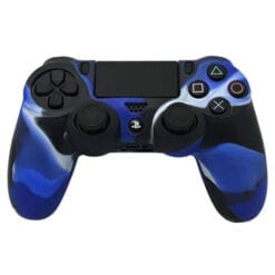 PlayStation 4 Controller Silicone Cover Blue Camo