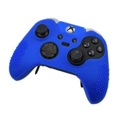 Soft Silicone Rubber Protective Case Cover for Microsoft Xbox One Elite Controller Blue