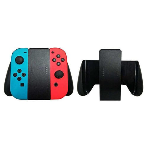 Joy-Con Comfort Hand Grip Handle Holder for Nintendo Switch Black